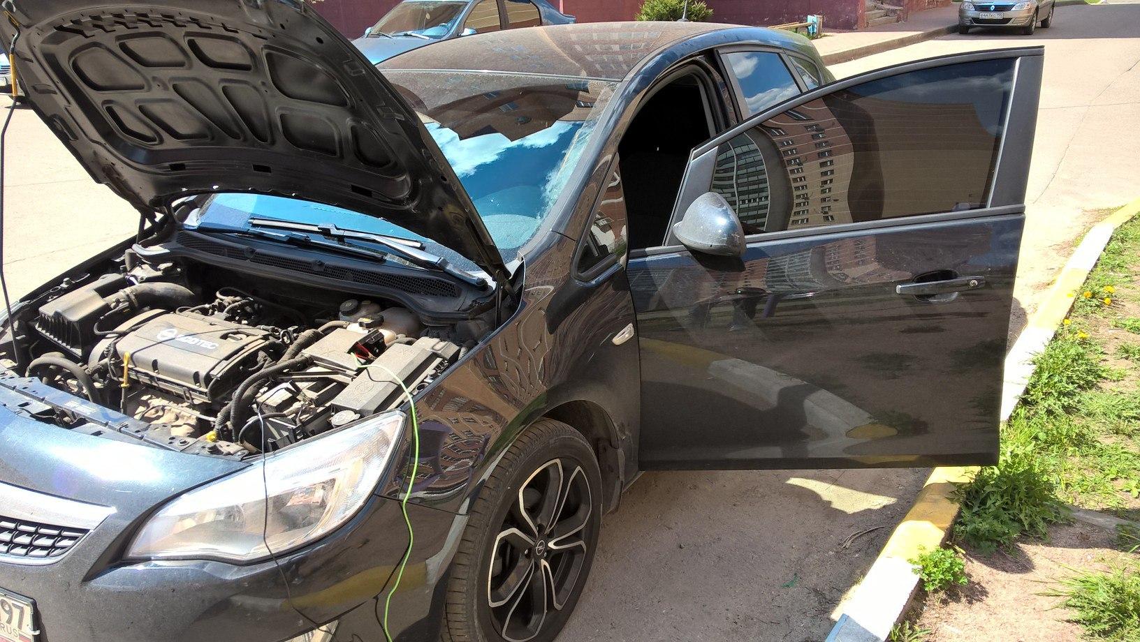 Чип тюнинг Opel Astra J 1.6 A16XER в Ногинске