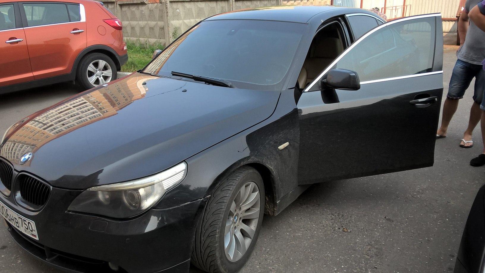 Чип тюнинг BMW E60 525