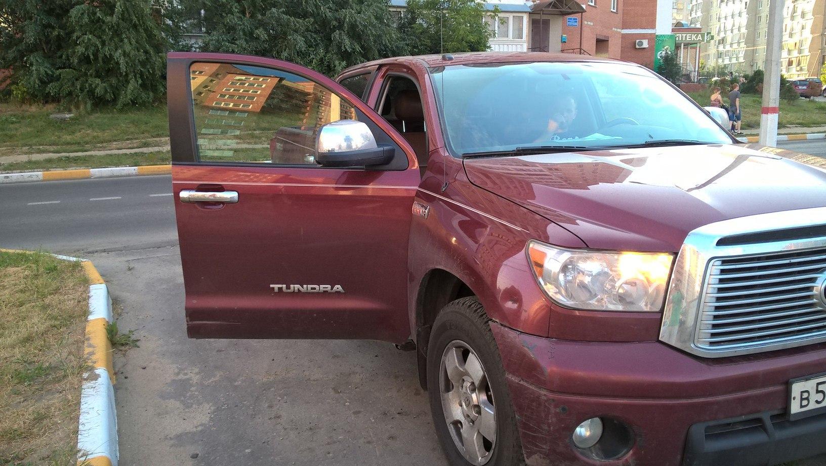Чип тюнинг Toyota Tundra 5.7