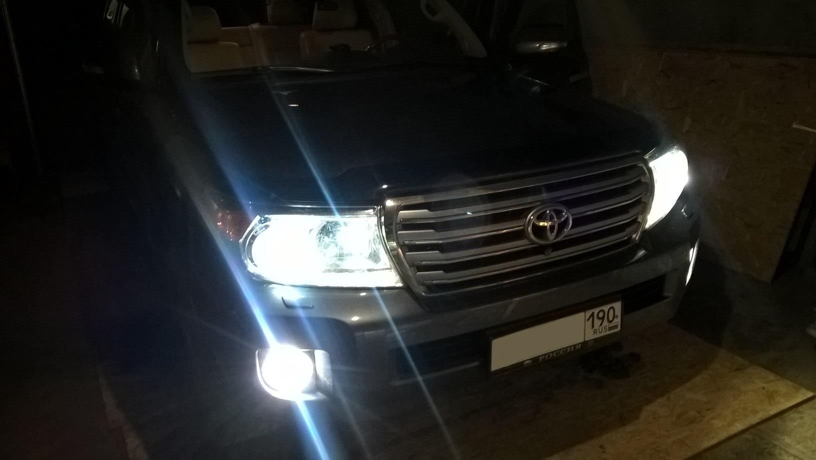 Чип тюнинг Тойота Ленд Крузер 200 дизель