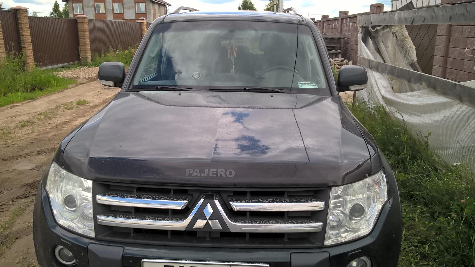 Чип тюнинг Mitsubishi Pajero 4 3.2 дизель