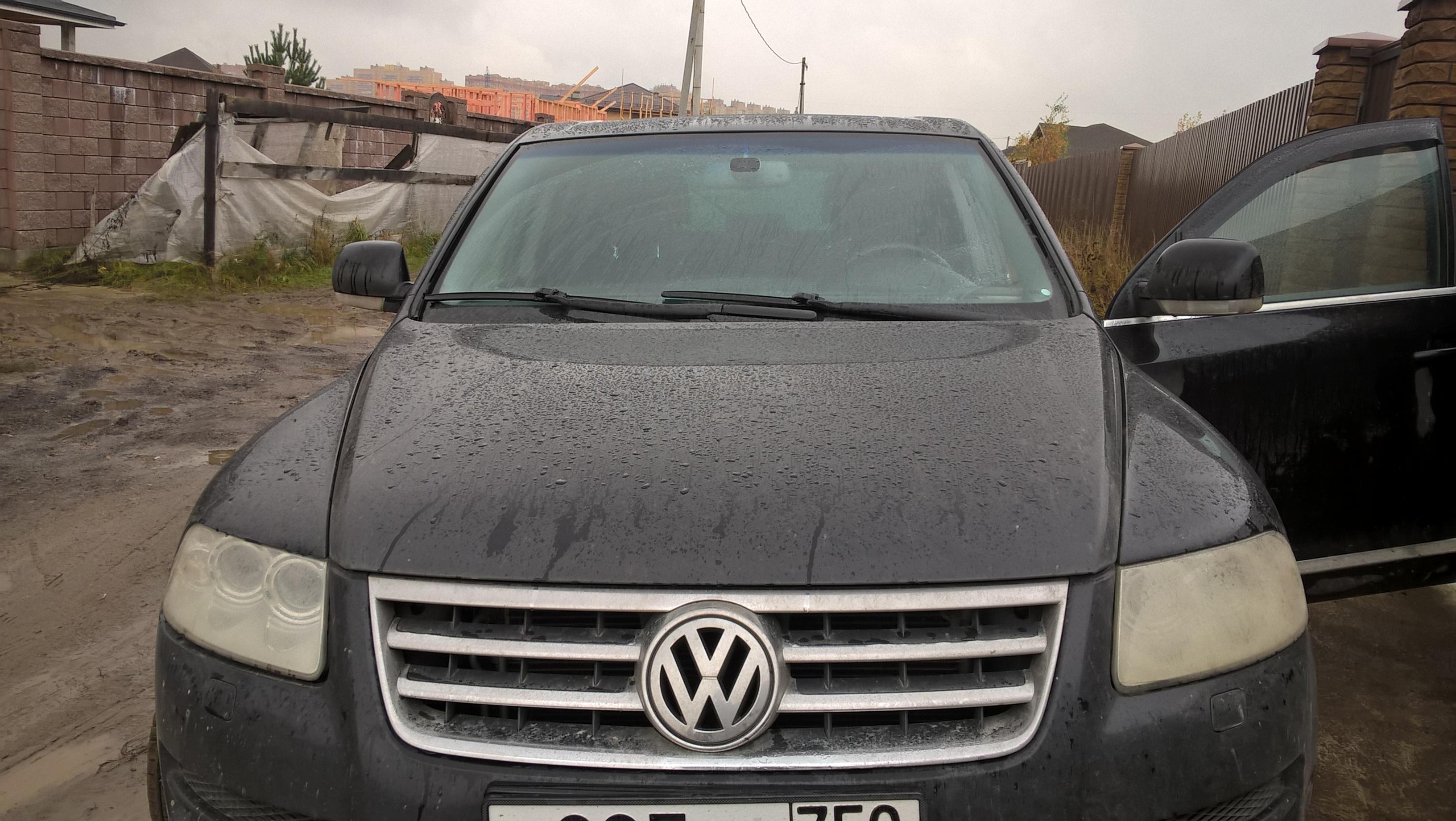 Чип-тюнинг VW Touareg 4.2 литра бензин