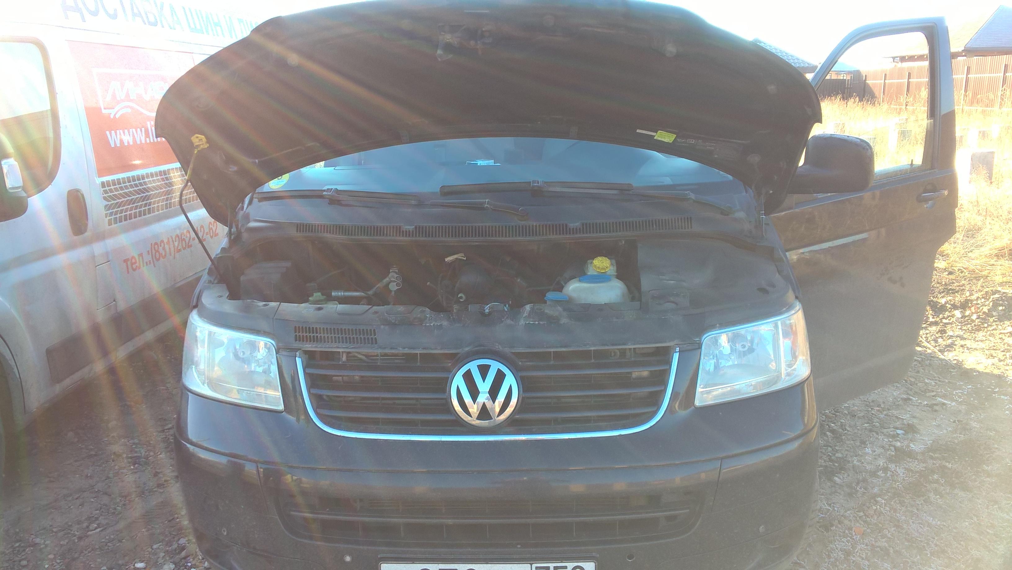 Удаление ЕГР и увеличение мощности VW Транспортер