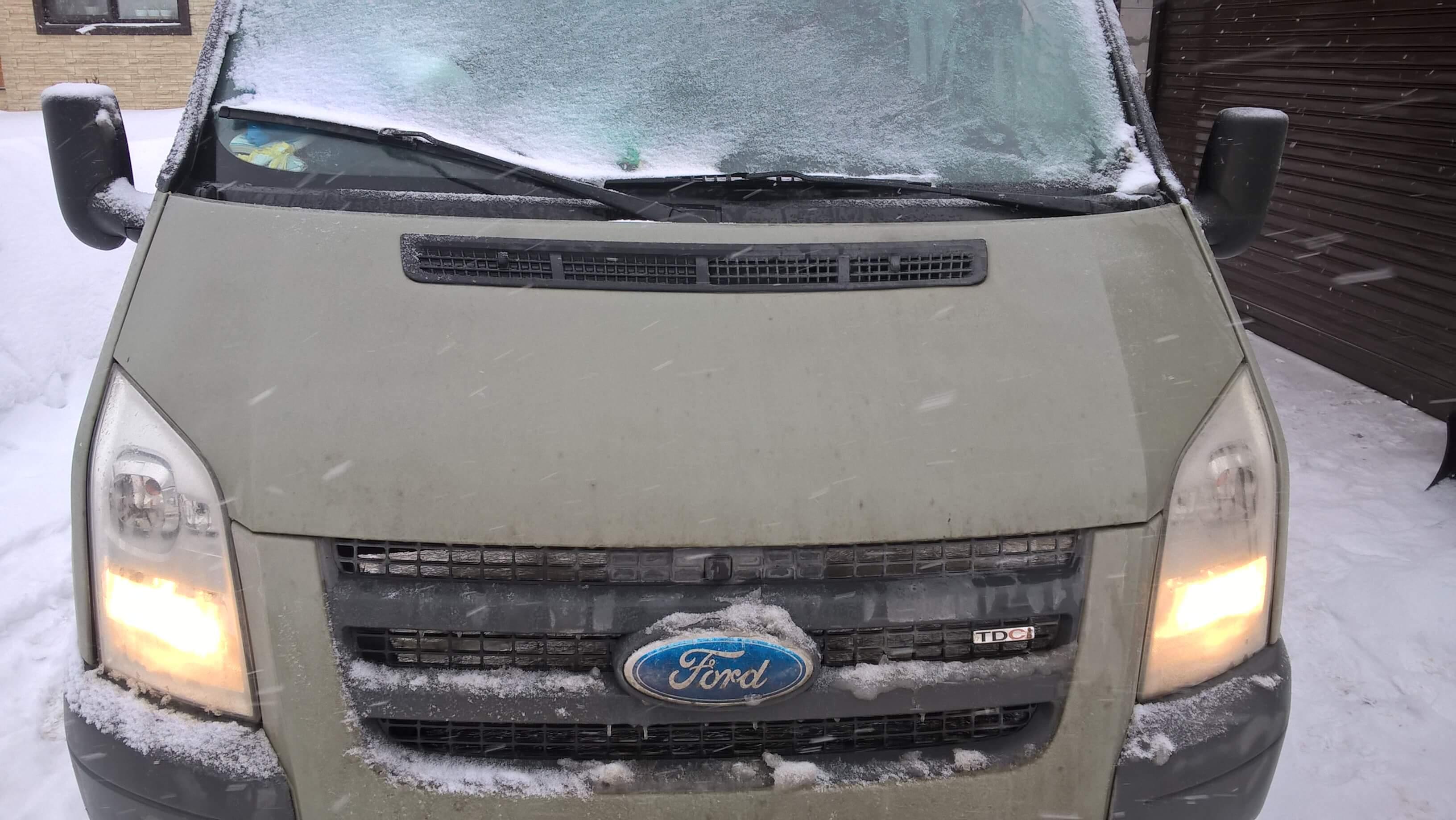 Чип тюнинг Форд Транзит 2.4 дизель