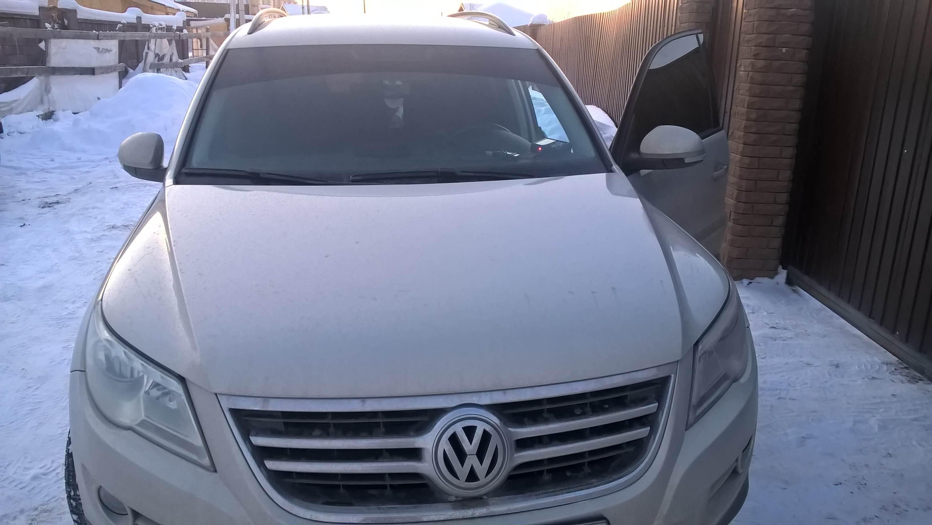 Чип тюнинг VW Tiguan 2.0 tdi