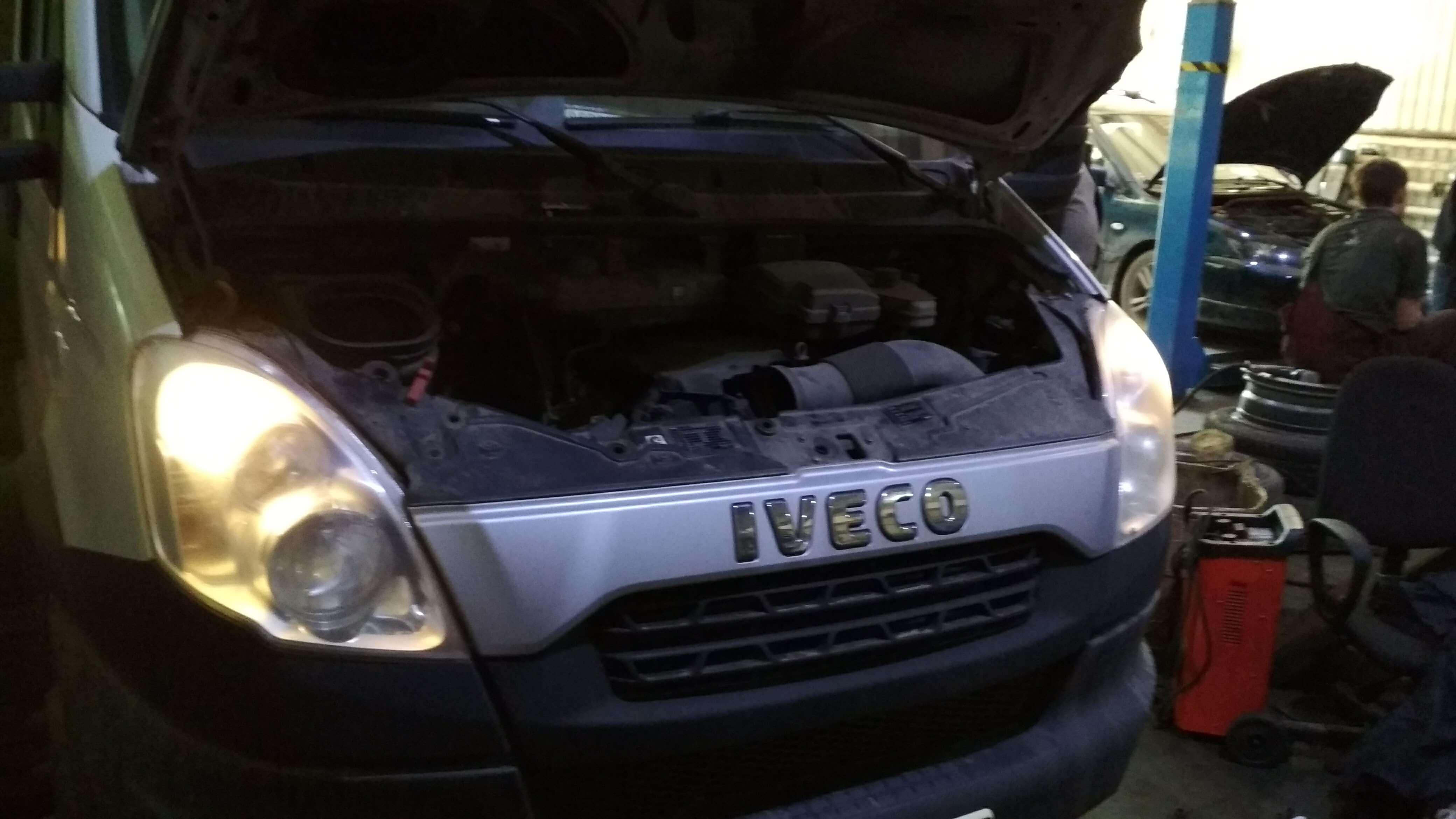 Чип тюнинг Iveco Daily отключение ЕГР и ограничителя скорости