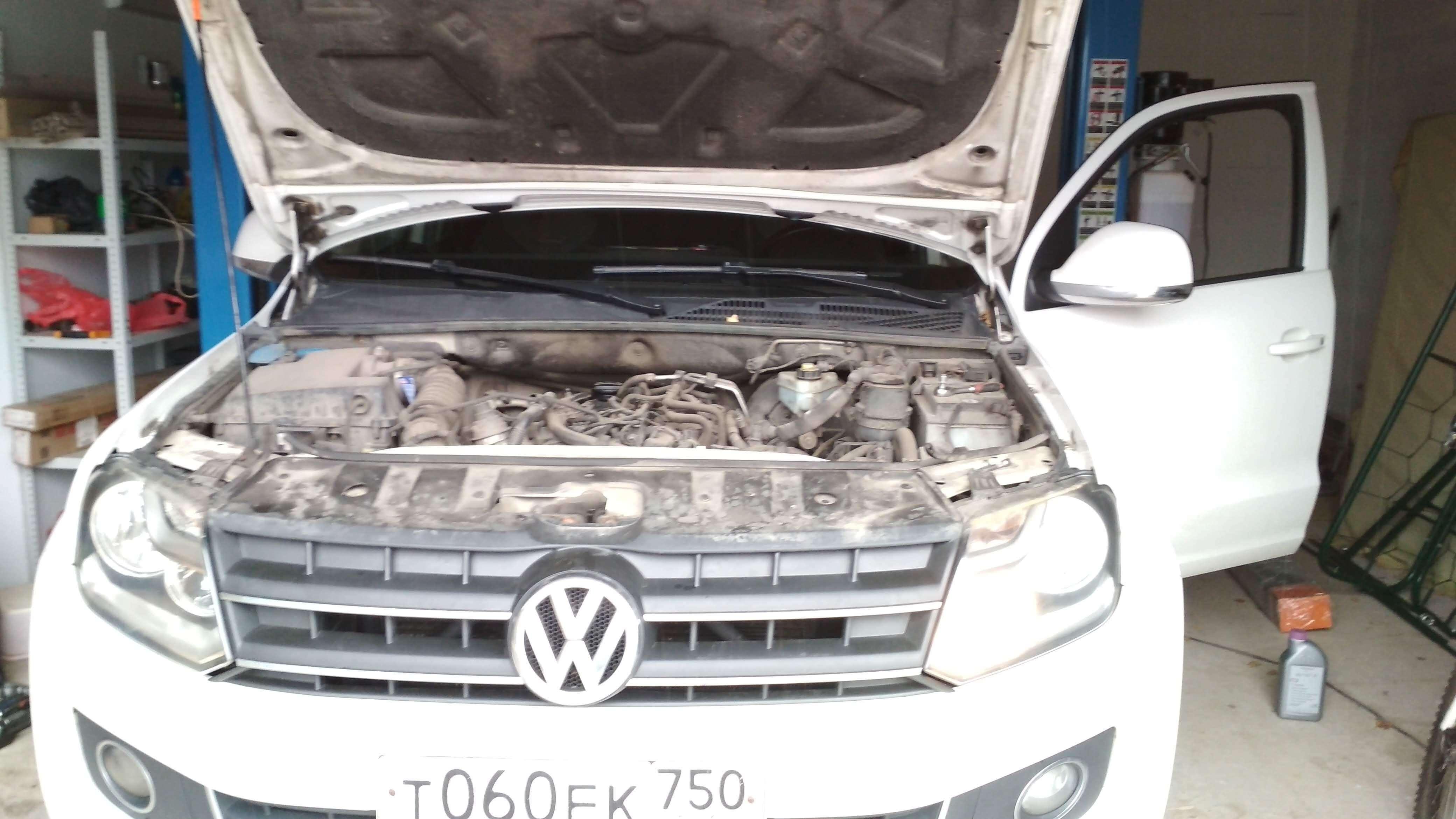 Чип-тюнинг с удалением теплообменника EGR VW Amarok