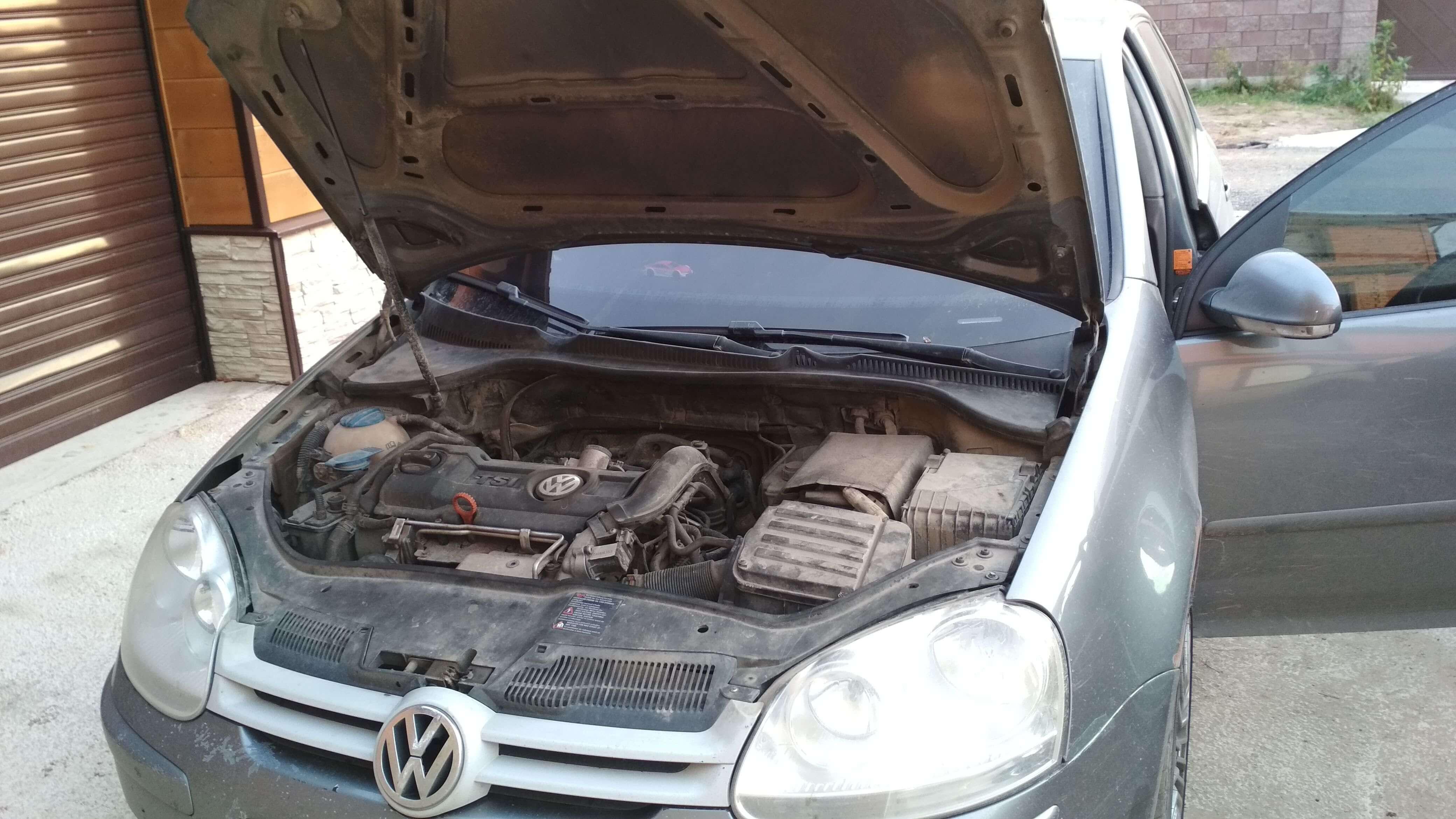 Чип тюнинг VW Golf 5 1.4 TSI