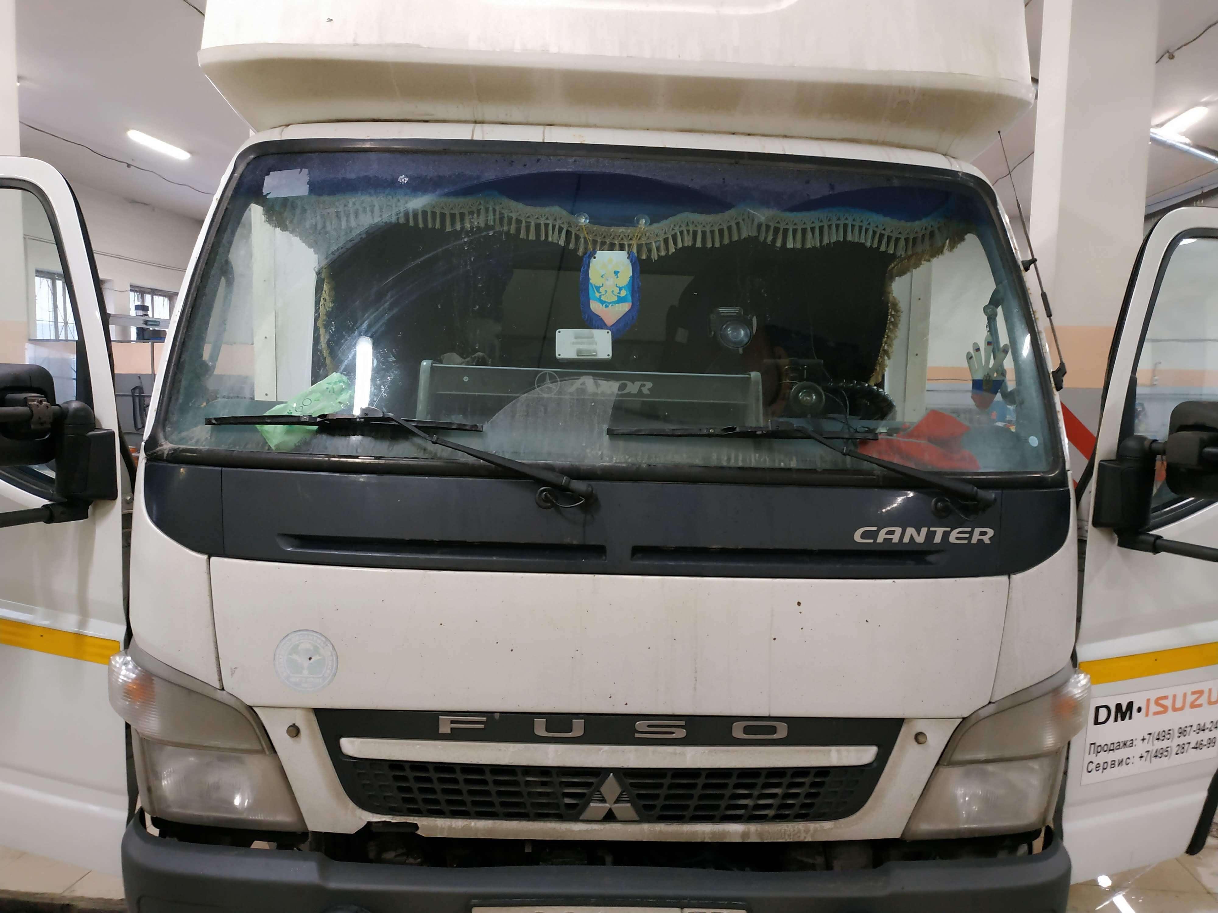 Отключение ЕГР и сажевого фильтра Mitsubishi Fuso Canter