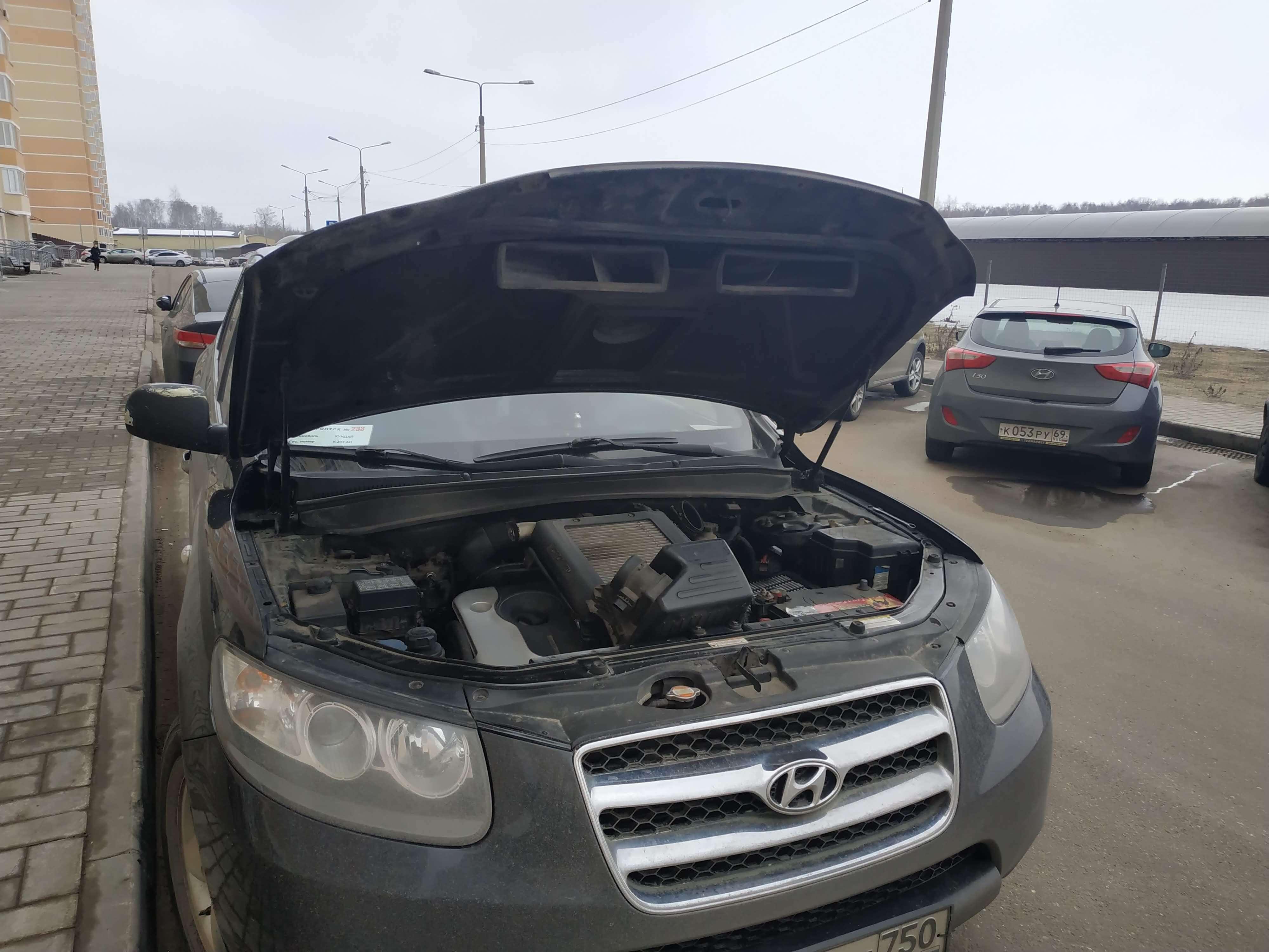 Чип тюнинг Hyundai Santa Fe 2.2 дизель