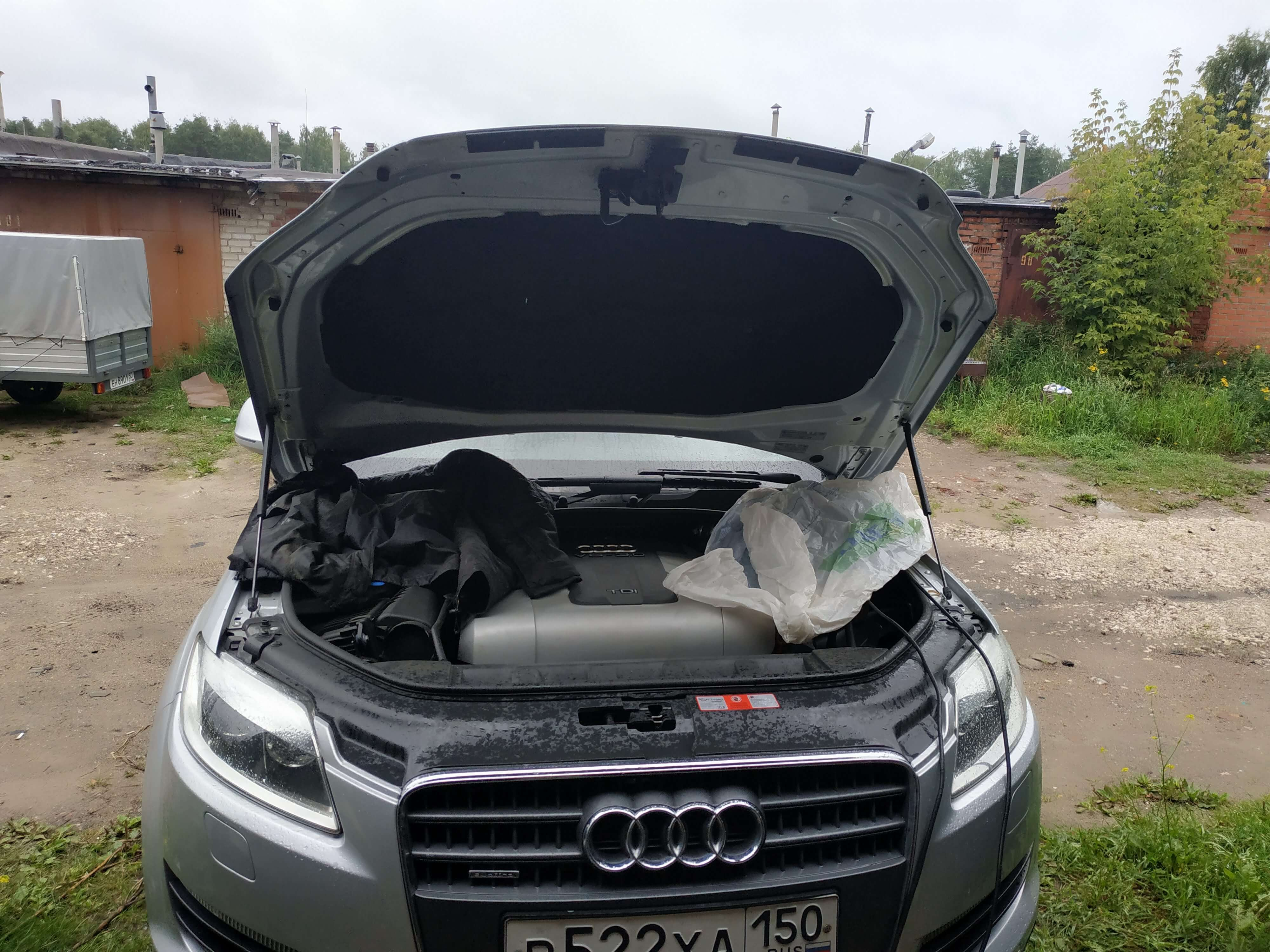 Чип тюнинг Audi Q7 3.0 дизель CASA