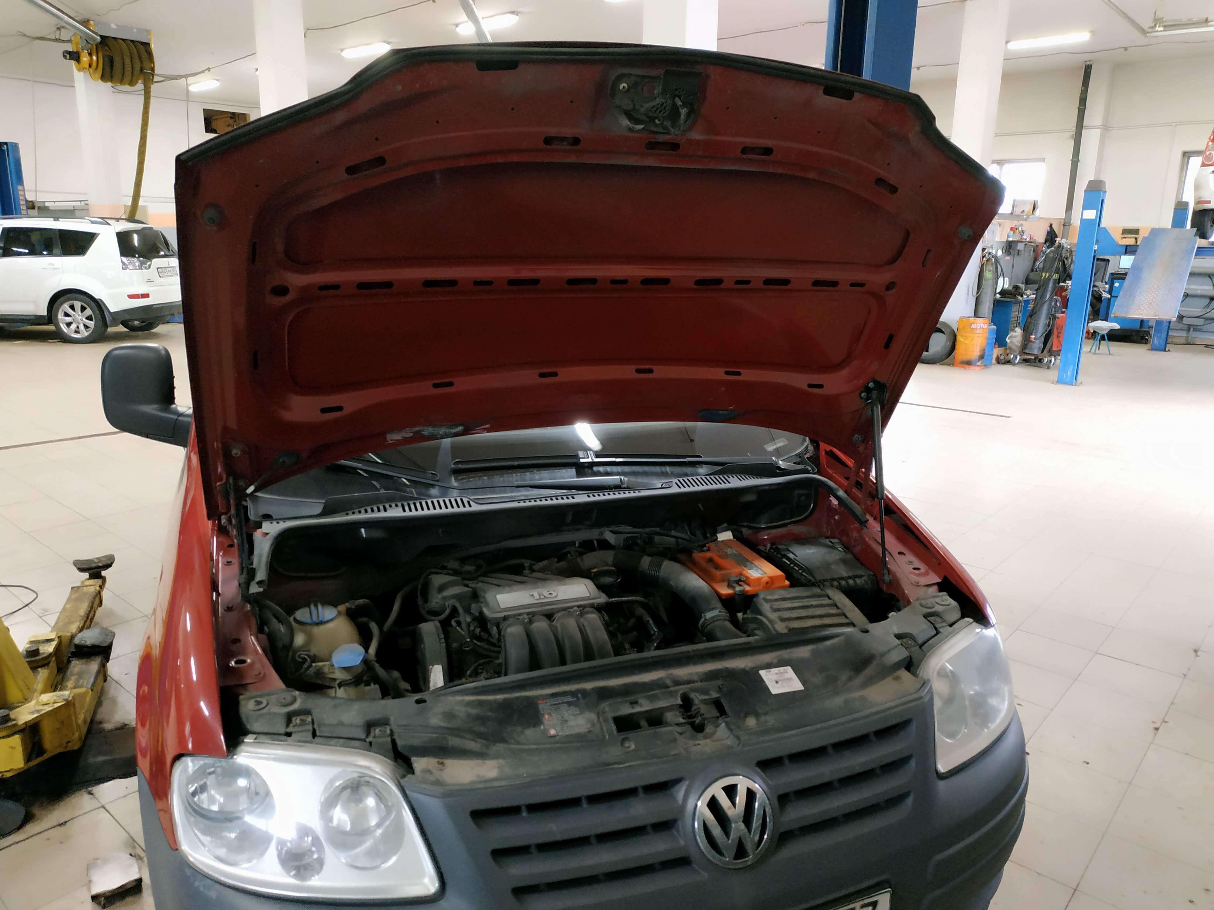 Чип тюнинг VW Caddy 1.6