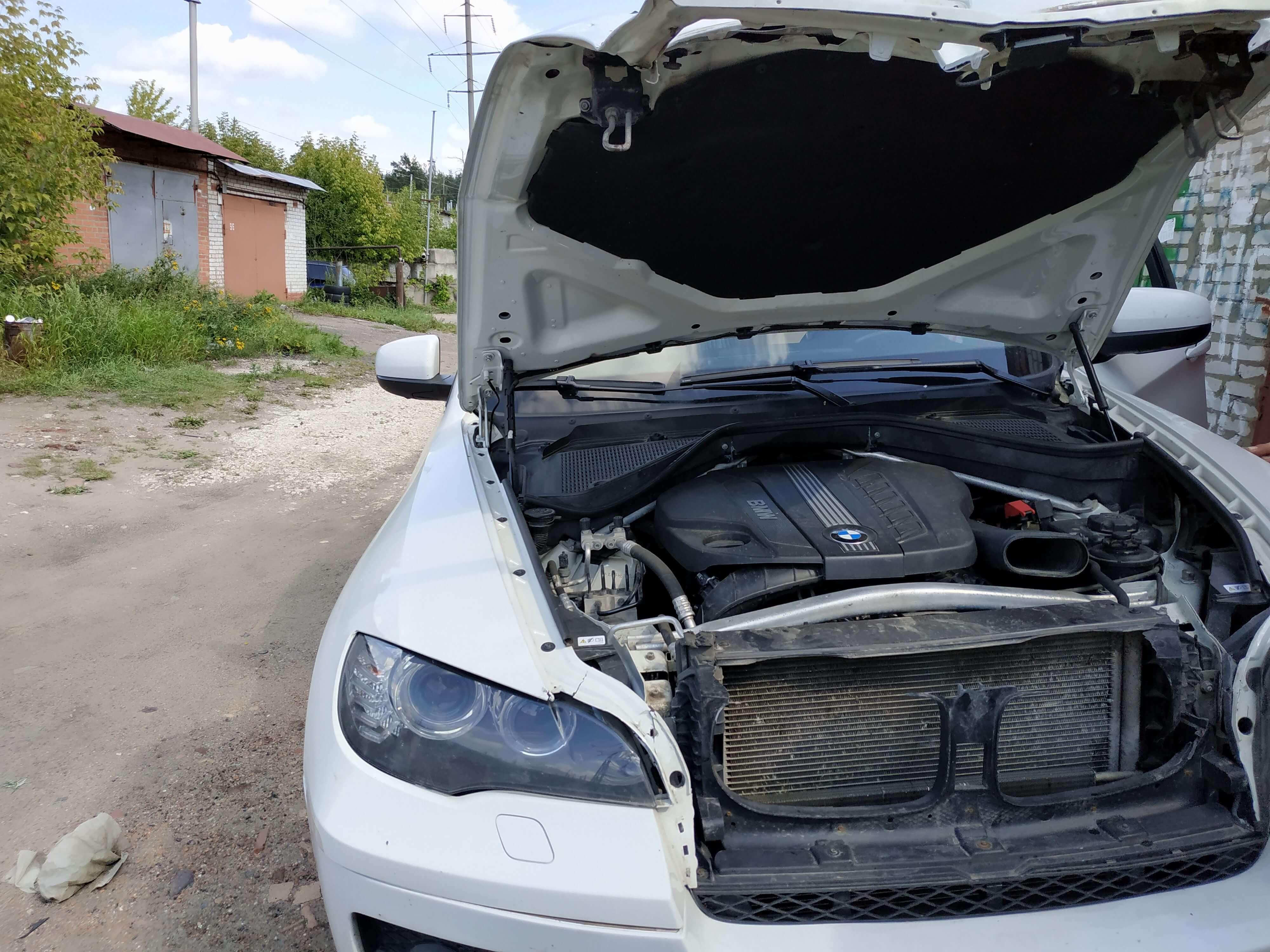Чип тюнинг BMW X6 рестайлинг 3.0 дизель