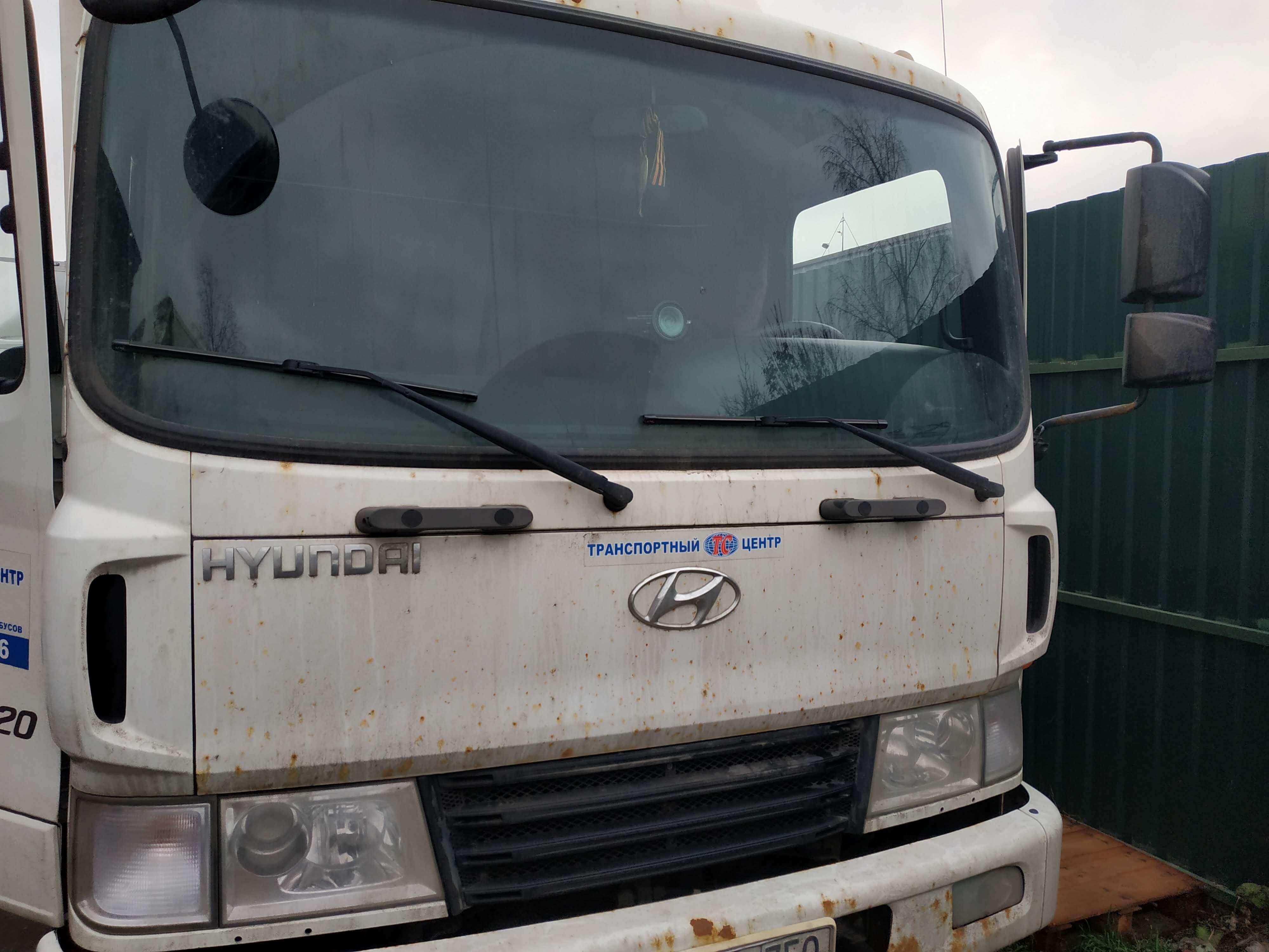 Увеличение мощности и удаление ЕГР Hyundai HD120