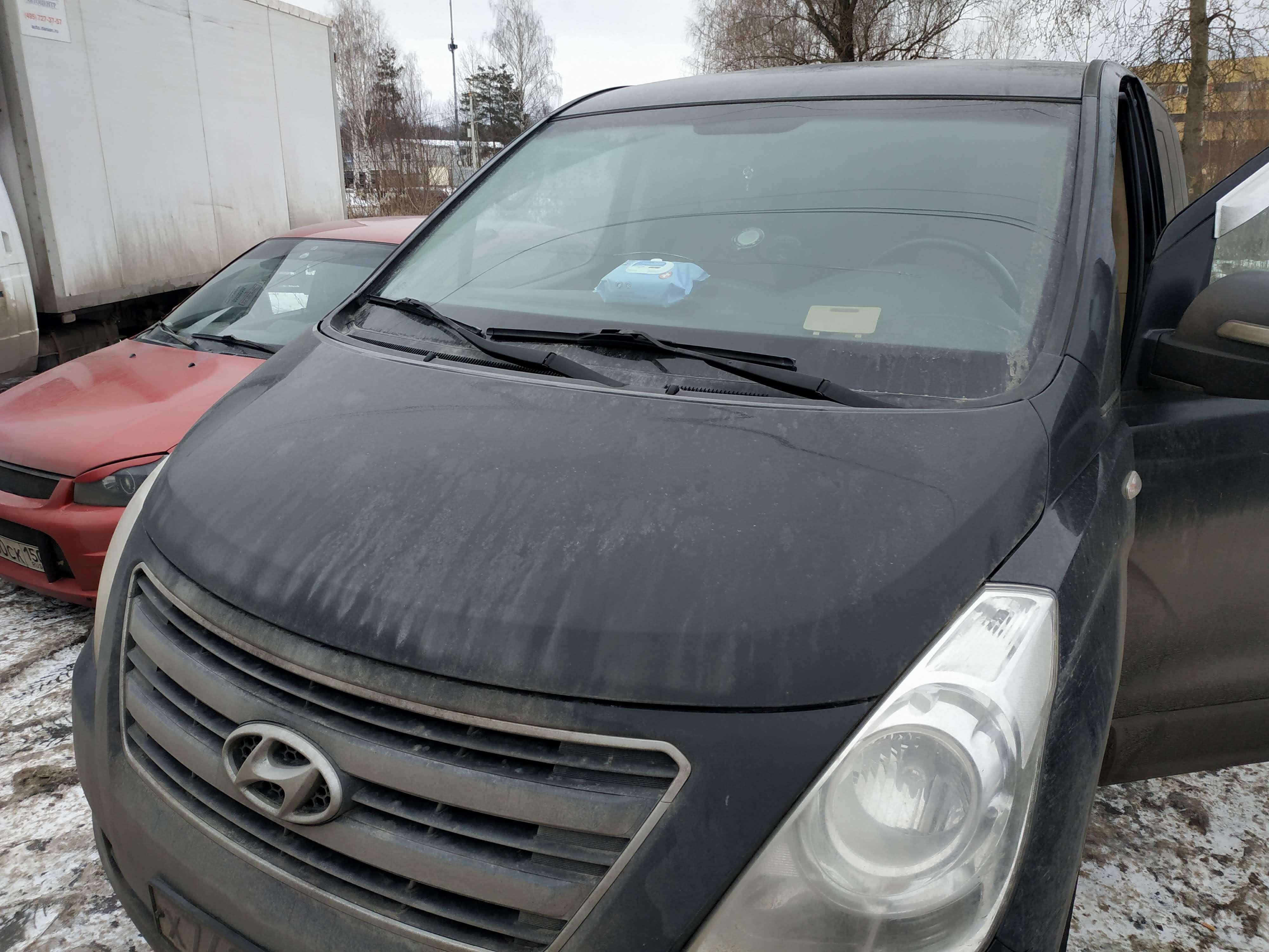 Удаление ЕГР и мочевины Hyundai Grand Starex